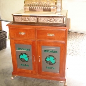Custom design double-door cabinet
