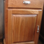 "Solid cherry ""standard"" cabinet"
