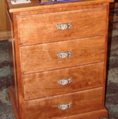 Cherry cabinet - 4 drawer