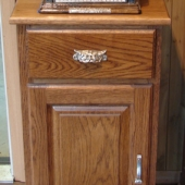 Small Standard Cabinet - Price starts at $1,000