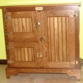 Oak Icebox