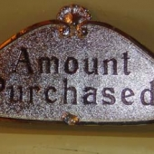 Large 1000 Class Sign - price $115.00