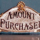 Small 400 Class Sign  - Price: $110.00