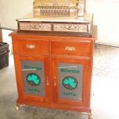 Custom design double-door cabinet