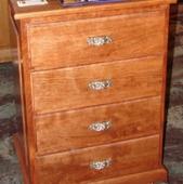 Cherry cabinet - 4 drawer