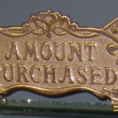 Small Art Nouveau Sign - Price: $115.00